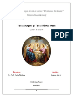 Taina Mirungerii și Taina Sfântului Maslu