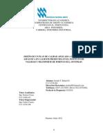 Plan de Calidad Fabricacion Mezcla