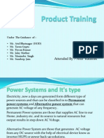 Product Training