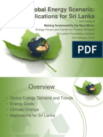 Overview of the Global Energy Scenario