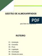 GESTÃO DE ALMOXARIFADOS