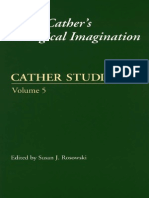 Cather Studies Willa Cathers Ecological Imagination 2003