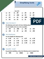 GCSE Mod 3 - Simplifying Surds 1 v2.5