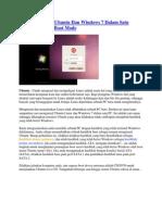 Cara Menginstal Ubuntu Dan Windows 7 Dalam Satu Komputer