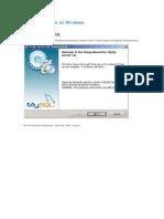 How to Setup MySQL for VDC