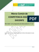 MECD 20140221 Competencia Digital Docente Borrador