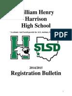 Course Registration Book 2014