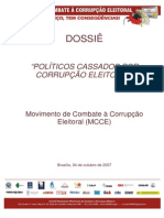 Politicos Cass a Do Sd Ossie