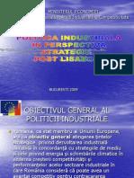Politica Industriala in Perspectiva Strategiei Post Lisabona
