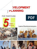 Development Planning & Five Year Plans