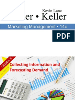 Collecting Information and forecasting demand