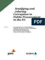 Raport OLAF Coruptie Achizitii Publice UE