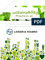 Sustainability Practice at L&T