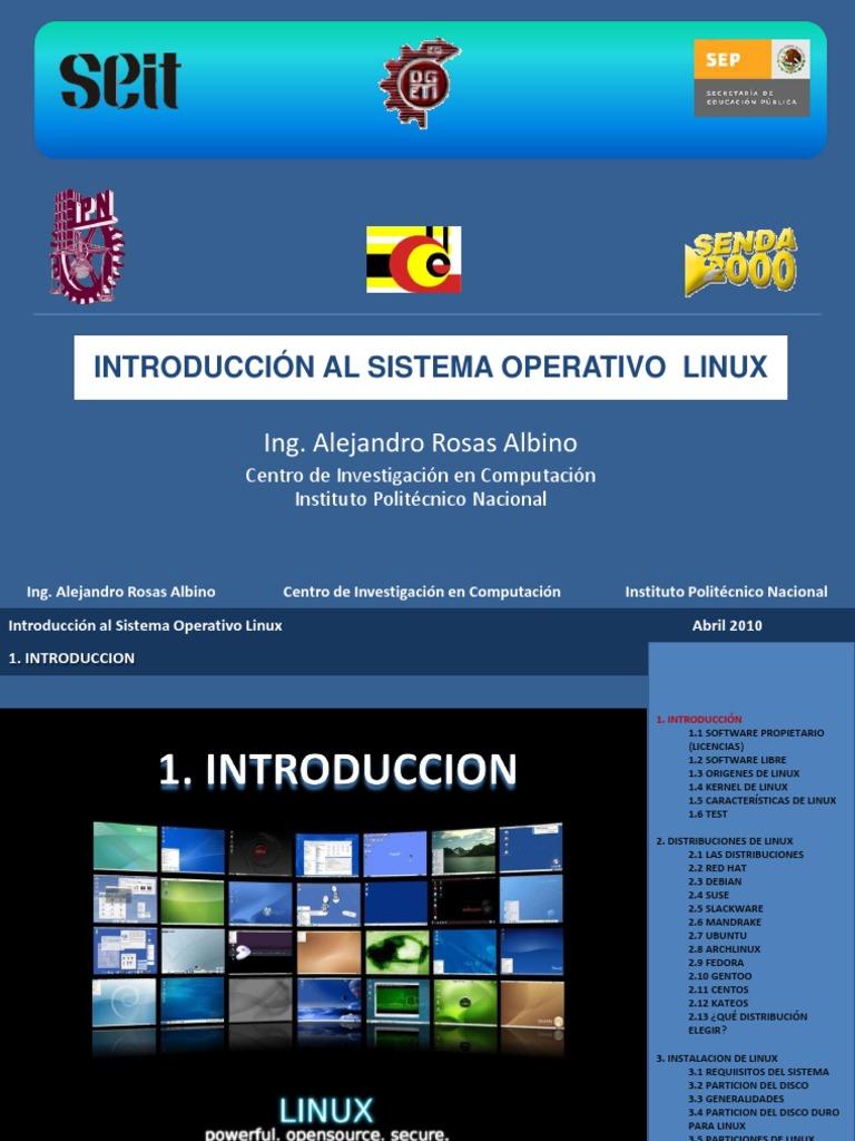 Curso Linux | Distribución Linux | Fedora (Sistema operativo)