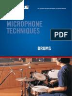 Mic Techniques Drums