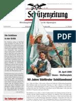 2008 XX Tiroler Schützenzeitung Sondernummer 2008