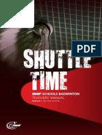 Shuttle Time_Module 1