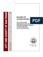 San Francisco City Government Courts  - 2000 01