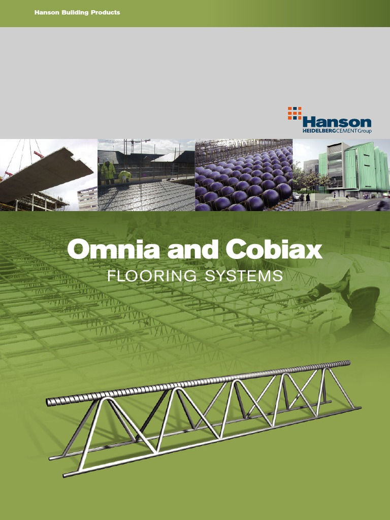Hanson Omnia Brochure Flooring System Precast Concrete