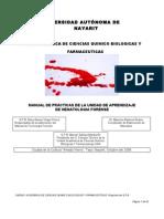 Manual de Hematologia forence