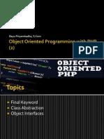 Pertemuan 10 PHP OOP 2
