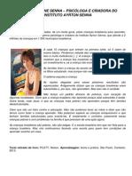 (Impresso) Texto Complementar - Aula 04 - Fala de Viviane Senna