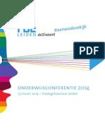 Onderwijsconferentie 2014