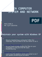 Maintain Computer With Xp