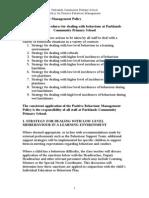 Behaviour Policy Appendix A Strategies document.doc