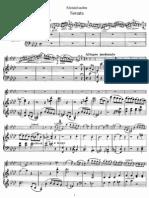 Violin Sonata in f, Op 4