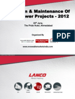 Soar Pant O&M practice PPT by lanco