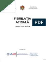 Protocol fibrilatie atriala