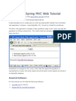 Eclipse Object Db Spring Mvc