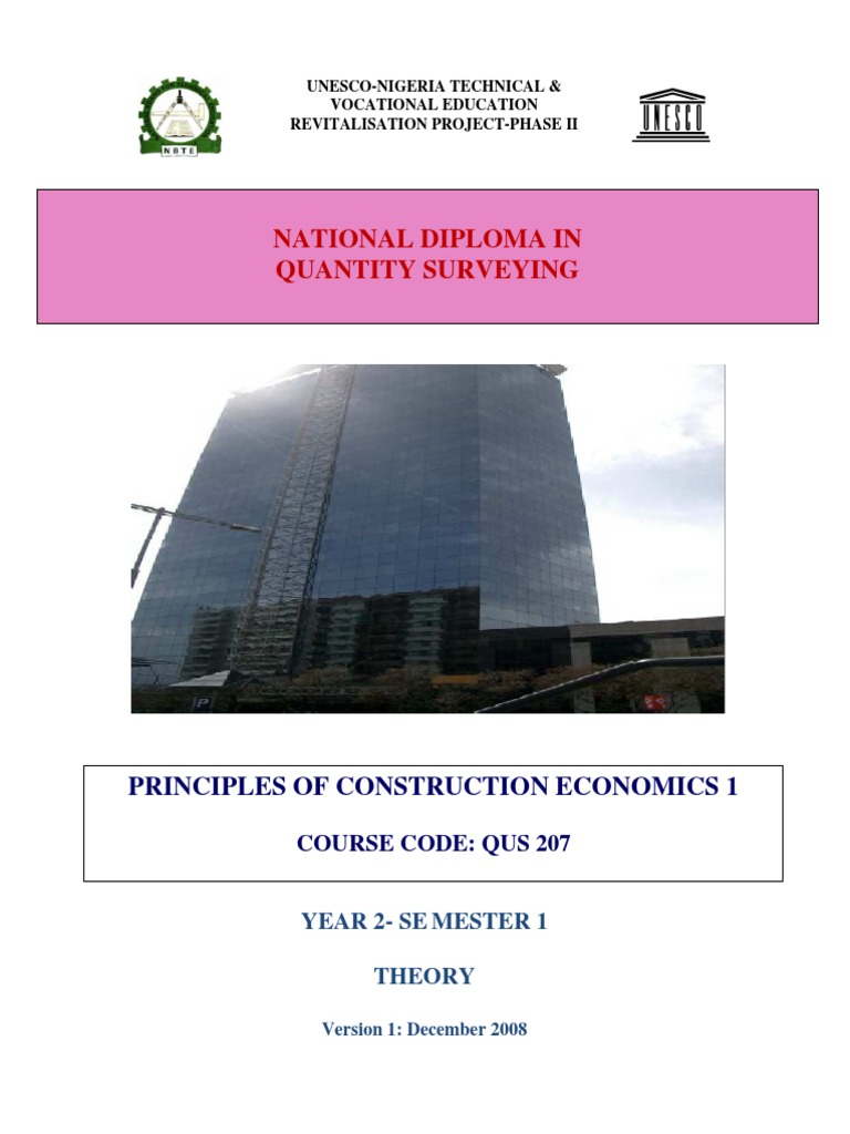 QUS 207 -Principles of Const  Econs I | Measures Of National