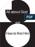 All About God and How To Find Him - A Course In Miracles eBook