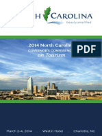 North Carolina Governor's Conference on Tourism 2014