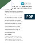 LAS 4 CLAVES DE LA PERSONACIÓN AMPLIACIÓN DE LA DENUNCIA #CASOREFINERÍA