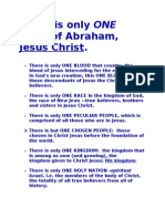 There is Only ONE SEED of Abraham