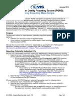 2014 PQRS Registry Made Simple F01!08!2014
