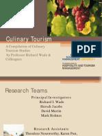 Wade Culinary Tourism