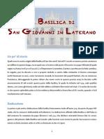 La Basilica Di s Giovanni in Laterano