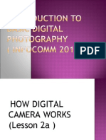 introduction to basic digital photography lesson 2