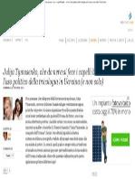 Julija Tymosenko, che da nera si fece i capelli biondi…