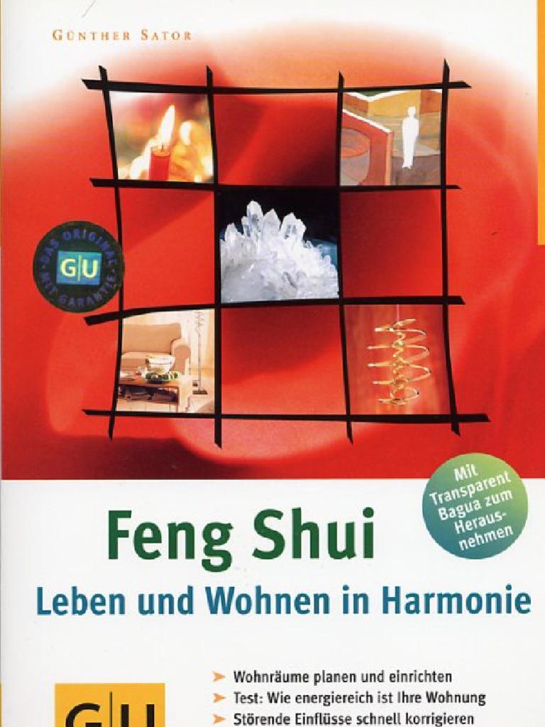 sator g nther feng shui leben und wohnen in harmonie. Black Bedroom Furniture Sets. Home Design Ideas