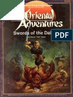 TSR 9164 - OA1 - Swords of the Daimyo