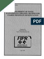 Flotation of Coarse Phosphates