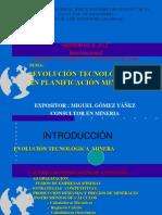 Evolucion Tecnologica en Planificacion Minera Tacna