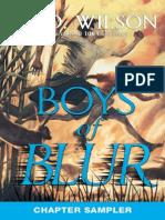 Boys of Blur Chapter Sampler
