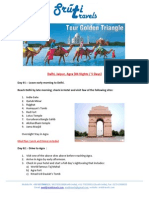Golden Triangle Tour From Patiala