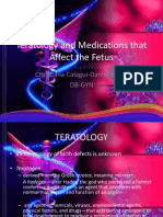 Teratology and Medications That Affect the Fetus